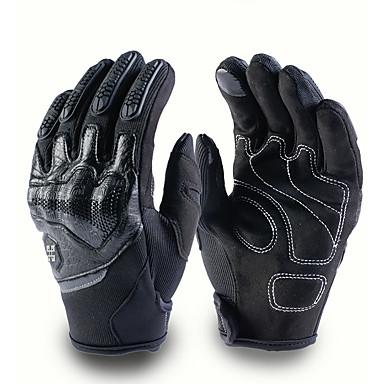 Мото мотокросс перчатки мужчины женщины внедорожный мотоцикл перчатки с сенсорным экраном полный палец