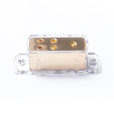 voordelige Auto-audio-4-weg audioversterker voor auto-audio voor audio / aarde kabelverdeler 4ga