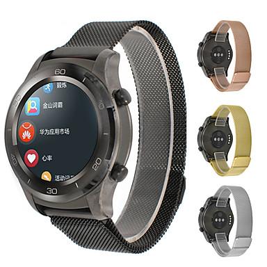 Недорогие Ремешки для часов Huawei-Ремешок для часов для Watch 2 Pro Huawei Миланский ремешок Металл Повязка на запястье
