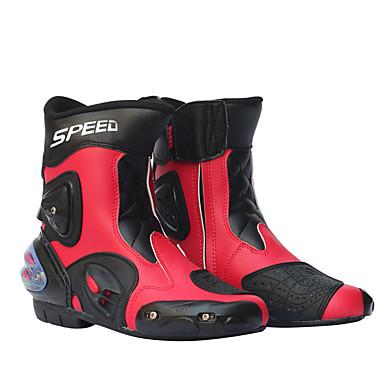 voordelige Beschermende uitrusting-heren motorracen schoenen leren motorlaarzen motorrijden motocross offroad moto-laarzen