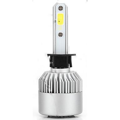 voordelige Autokoplampen-pakket van 2 cob led auto koplamp 40w 10000lm alles in een auto led koplampen lamp mistlamp wit 6000k hoofdlamp