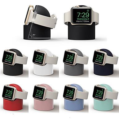 voordelige Apple Watch-bevestigingen & -houders-standaard all-in-1 silicagel voor Apple watch serie 4/3/2/1 draadloos opladen