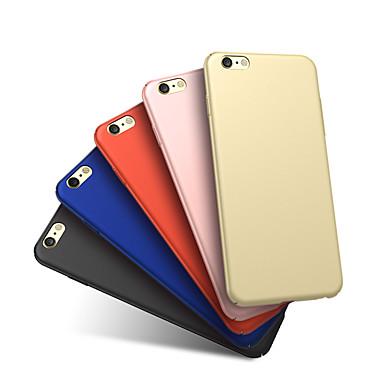 Недорогие Чехлы и кейсы для Galaxy A7-Кейс для Назначение SSamsung Galaxy A7 Защита от удара / Матовое Кейс на заднюю панель Однотонный Твердый пластик