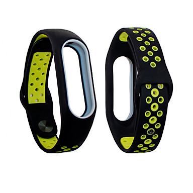 preiswerte Uhren Herren-doppelte Farbenhandgelenkbügel für Uhr des xiaomi MI-Bandes 3/4 intelligentes Armbandband-wasserdichtes Abdeckungssilikon-Uhrenarmband
