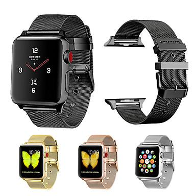 Watch Band varten Apple Watch Series 4/3/2/1 Apple Milanolainen Metalli Rannehihna