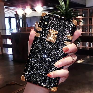 voordelige iPhone X hoesjes-hoesje Voor Apple iPhone XS / iPhone XR / iPhone XS Max Glitterglans Achterkant Glitterglans Zacht Siliconen