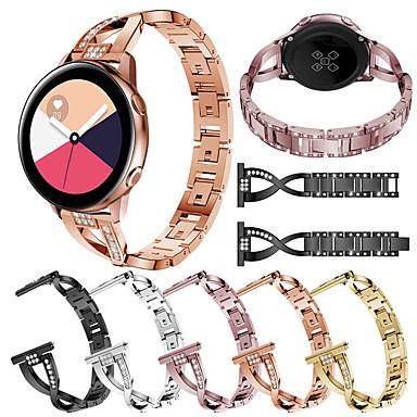 voordelige Horlogebandjes voor Samsung-Horlogeband voor Samsung Galaxy Watch 42 / Samsung Galaxy Active Samsung Galaxy Sieradenontwerp Roestvrij staal Polsband