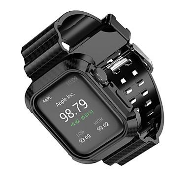 voordelige Smartwatch-accessoires-voor apple watch serie 4 apple sportband kunststof polsband