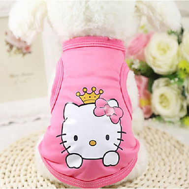 cheap Dog Clothing & Accessories-Cat Dog Sweater Hoodie Dog Clothes Heart Blue Pink Cotton Costume For Winter Men's Women's Keep Warm Fashion