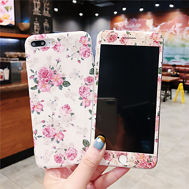 Недорогие Кейсы для iPhone-чехол для яблока iphone xr / iphone xs max pattern / imd задняя крышка цветок мягкий тпу для iphone x xs 8 8plus 7 7plus 6 6plus 6s 6splus