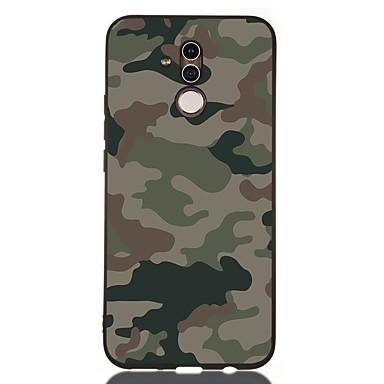 voordelige Huawei Mate hoesjes / covers-hoesje Voor Huawei Huawei Honor 10 / Honor 10 Lite / Huawei Honor 9 Lite Schokbestendig / Mat / Patroon Achterkant Landschap TPU