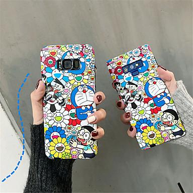 voordelige Galaxy Note-serie hoesjes / covers-hoesje Voor Samsung Galaxy Note 9 / Note 8 IMD / Patroon Achterkant Cartoon Zacht TPU