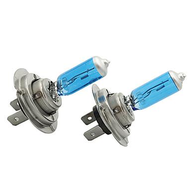 voordelige Motorverlichting-2 stks / set h7 12 v 55 w wit 6300 k blue auto hoofd licht lamp auto verlichting