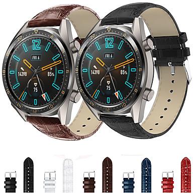 Недорогие Ремешки для часов Huawei-браслет из натуральной кожи наручные ремешок для часов ремешок для часов Huawei GT / часы 2 Pro / честь магия смарт-часы браслет аксессуары