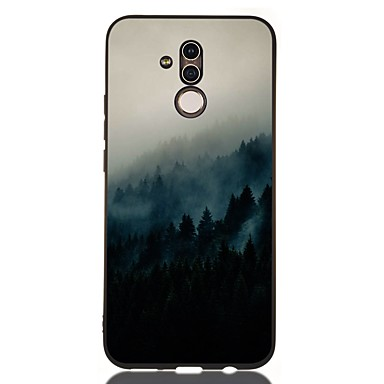 voordelige Huawei Mate hoesjes / covers-hoesje voor huawei honor 10 / honor 10 lite / honor 9 lite schokbestendig / mat / patroon achterkaft landschap tpu zacht voor huawei honor 8a / honor v9 spelen / mate 20 lite / mate 20 pro / mate 10