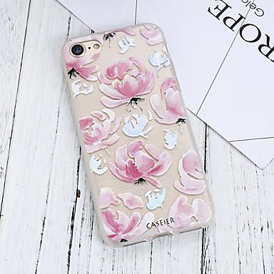voordelige iPhone 5 hoesjes-hoesje voor apple iphone xs max / iphone x / xs stofdicht / ultradun / patroon achterkant bloem zacht tpu / waterdicht / hoogwaardige mode shell telefoonhoesje voor iPhone 5 / 5s / se / 6s plus /