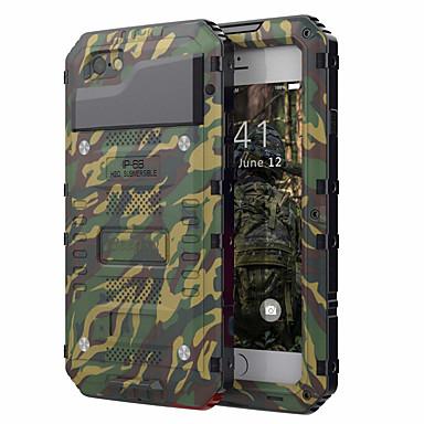 voordelige iPhone 6 Plus hoesjes-hoesje Voor Apple iPhone XS / iPhone X / iPhone 8 Plus Schokbestendig / Waterbestendig Volledig hoesje Schild Hard PC