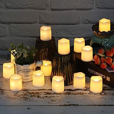12pcs Flameless Lumanari Mărime Mică LED