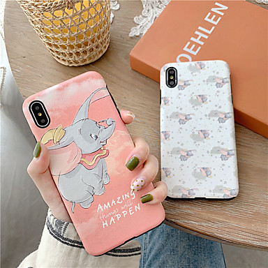 voordelige iPhone 6 Plus hoesjes-hoesje Voor Apple iPhone XS / iPhone XR / iPhone XS Max Waterbestendig / Schokbestendig / Stofbestendig Achterkant Cartoon TPU
