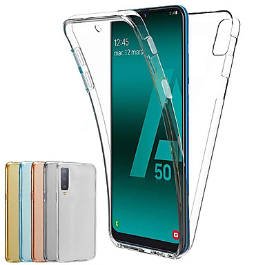 cheap 70% OFF & Up-Case For Samsung Galaxy Samsung Galaxy A90(2019) / Samsung Galaxy A70(2019) Dustproof / Ultra-thin / Translucent Full Body Cases Solid Colored TPU