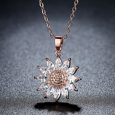 66753cb4143 cheap Necklaces-Women's Clear Necklace Princess Unique Design Classic  Vintage Fashion
