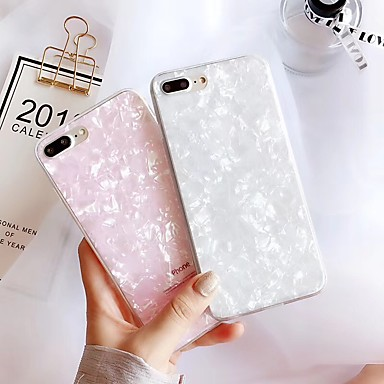 voordelige iPhone-hoesjes-hoesje Voor Apple iPhone XS / iPhone XR / iPhone XS Max Ultradun Achterkant Glitterglans TPU