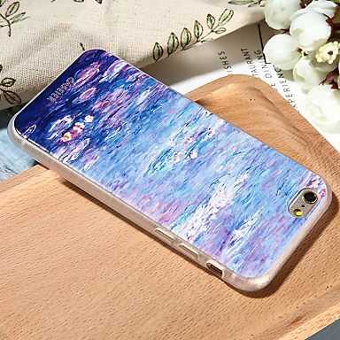 Недорогие Чехлы и кейсы для Galaxy S6-Кейс для Назначение SSamsung Galaxy S8 Plus / S8 / S7 edge Ультратонкий / С узором Кейс на заднюю панель Цветы Мягкий ТПУ