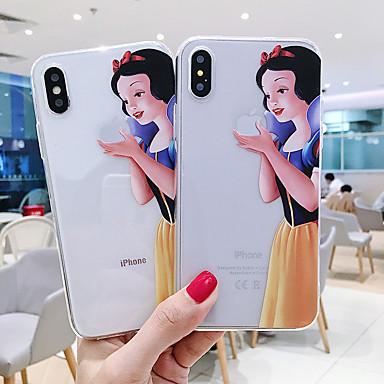 voordelige iPhone X hoesjes-hoesje Voor Apple iPhone 11 / iPhone 11 Pro / iPhone 11 Pro Max Patroon Buideltas Cartoon TPU
