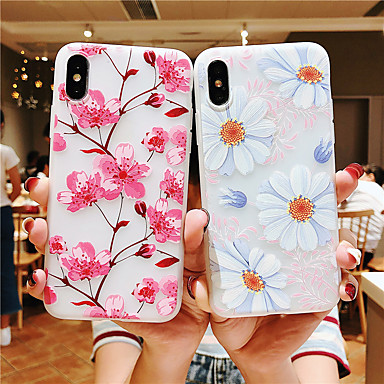 voordelige Galaxy S-serie hoesjes / covers-hoesje Voor Samsung Galaxy S9 / S9 Plus / S8 Plus Game zaak Achterkant Vlinder / Boom / Bloem TPU