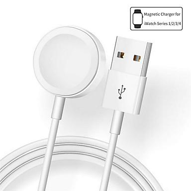 billige Telefonladere-Trådløs Lader USB-lader USB 1 A DC 5V til Apple Watch Series 4/3/2/1 / Apple Watch Series 3 / Apple Watch Series 2