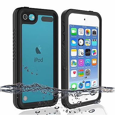 Недорогие Чехлы и кейсы для iPod-Кейс для Назначение iTouch 5/6 Водонепроницаемый / Защита от удара / Защита от пыли Бампер Твердый