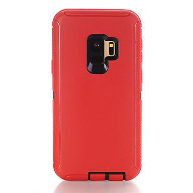 cheap 30% OFF & Up-Case For Samsung Galaxy S9 Plus Shockproof Back Cover Solid Colored TPU