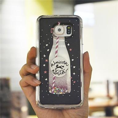 Недорогие Чехлы и кейсы для Galaxy S6-Кейс для Назначение SSamsung Galaxy S9 / S9 Plus / S8 Plus Защита от удара / Защита от пыли / Сияние и блеск Кейс на заднюю панель Мультипликация / Сияние и блеск Твердый ПК