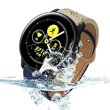 Недорогие Часы для Samsung-Ремешок для часов для Samsung Galaxy Watch 46 / Samsung Galaxy Watch 42 Samsung Galaxy Современная застежка Натуральная кожа Повязка на запястье