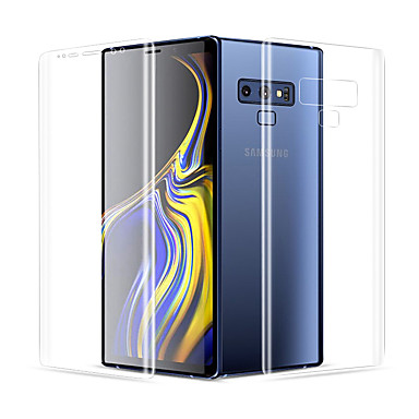 cheap 30% OFF & Up-ultra-thin clear front back full cover soft hydrogel film for samsung galaxy note 9 note 8 s8 s9 plus screen protector soft film