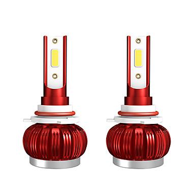 voordelige Autokoplampen-2 stks 9-36 v 36 w 3800lm 6000 k auto cob mist led gloeilamp modellen9006 / hb4