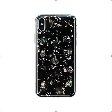 voordelige Galaxy Note-serie hoesjes / covers-hoesje voor samsung galaxy s9 / s9 plus / s8 plus / s8 / s10 / s10 plus / note8 / note9 doorschijnend / patroon achterkant transparant / sky pu leer