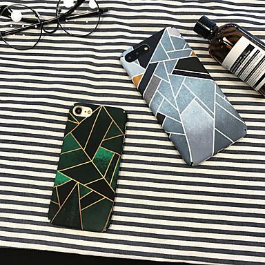voordelige iPhone X hoesjes-hoesje Voor Apple iPhone XS / iPhone XR / iPhone XS Max Stofbestendig / Patroon Achterkant Geometrisch patroon PC