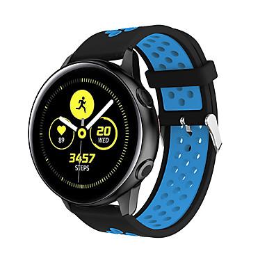 voordelige Horlogebandjes voor Samsung-Horlogeband voor Samsung Galaxy Active Samsung Galaxy Klassieke gesp Silicone Polsband