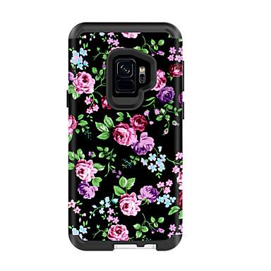voordelige Galaxy S-serie hoesjes / covers-hoesje Voor Samsung Galaxy S9 / S9 Plus Schokbestendig / Waterbestendig Achterkant Landschap / Bloem PC