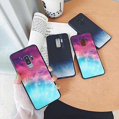 voordelige Galaxy S-serie hoesjes / covers-hoesje Voor Samsung Galaxy S9 / S9 Plus / S8 Plus Spiegel / Ultradun / Patroon Achterkant Hemel / Landschap TPU