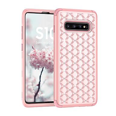 voordelige Galaxy S-serie hoesjes / covers-hoesje Voor Samsung Galaxy S9 / S9 Plus / Note 9 Schokbestendig / Strass Achterkant Glitterglans PC