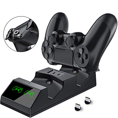 olcso Videojáték tartozékok-Töltőkészletek Kompatibilitás PS4 ,  Hordozható Töltőkészletek ABS 1 pcs egység