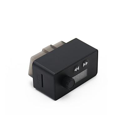 voordelige OBD-kungfuren obd2 diagnostisch apparaat blutooth 4.0 adapter met fm-zender auto bluetooth voor ios en android obd2 diagnostische scanner 16-pins obdii-interface voor het lezen en wissen van foutcode