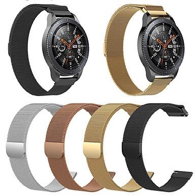 voordelige Smartwatch-accessoires-Horlogeband voor Huawei Watch GT Huawei Milanese lus Roestvrij staal Polsband