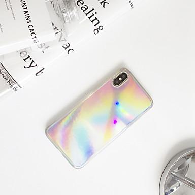 voordelige iPhone 7 hoesjes-hoesje Voor Apple iPhone XS / iPhone XR / iPhone XS Max Ultradun / Patroon Achterkant Kleurgradatie TPU