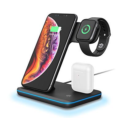 voordelige Smartwatch-accessoires-split 3 in 1 multifunctionele snelle draadloze oplader voor mobiele telefoon headset slimme horloge draadloze oplader