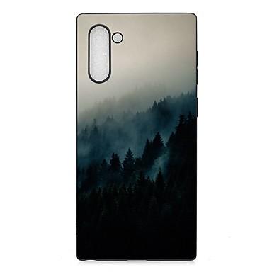 voordelige Galaxy Note-serie hoesjes / covers-hoesje Voor Samsung Galaxy Note 9 / Galaxy Note 10 / Galaxy Note 10 Plus Mat / Patroon Achterkant Landschap TPU