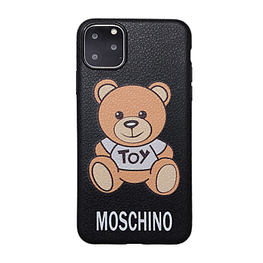 voordelige iPhone 7 hoesjes-hoesje Voor Apple iPhone 11 / iPhone 11 Pro / iPhone 11 Pro Max Ultradun / Patroon Achterkant dier / Cartoon TPU