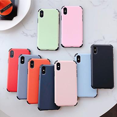 voordelige iPhone-hoesjes-appel geschikt voor xs max / xr / x vloeibare siliconen 6/7/8 vierhoekig anti-drop 6 plus / 7 plus / 8 plus mat telefoonhoesje